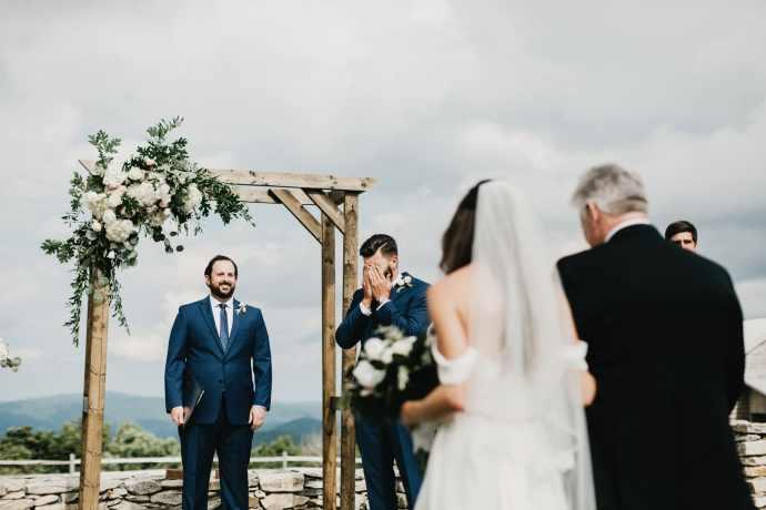 best emotional groom reaction