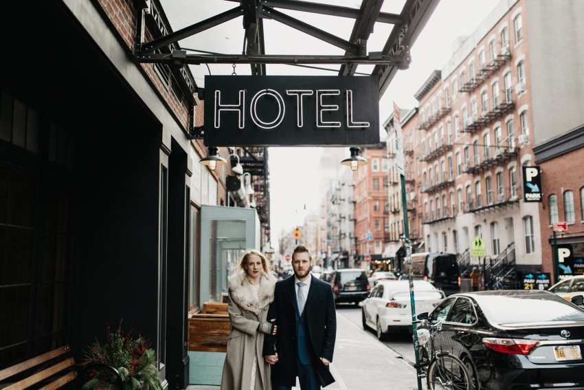Brett & Jessica Photography | ludlow hotel nyc wedding photos