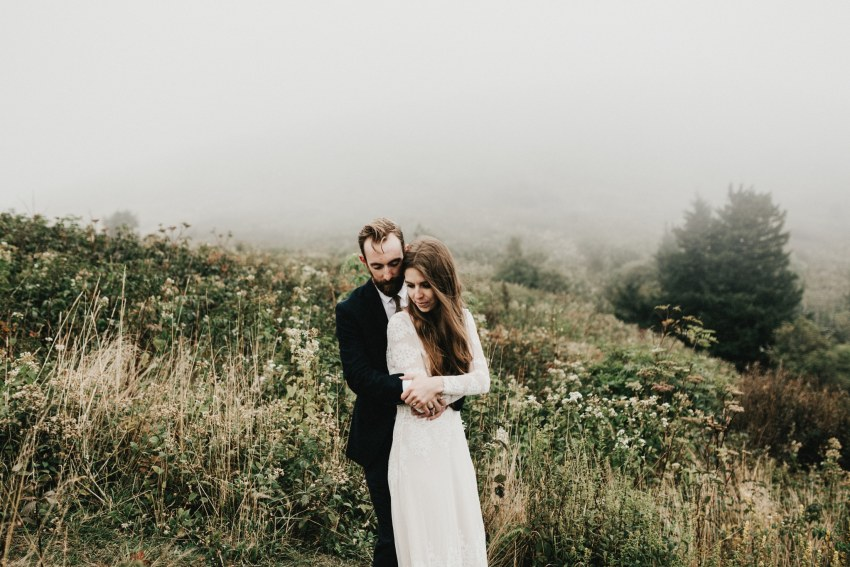 Brett & Jessica Photography | intimate Asheville elopement