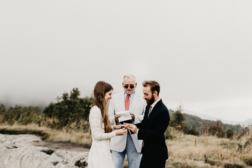 Brett & Jessica Photography | Asheville adventure elopement photographer