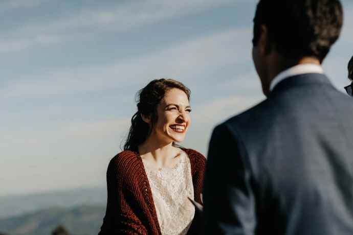 intimate asheville elopement