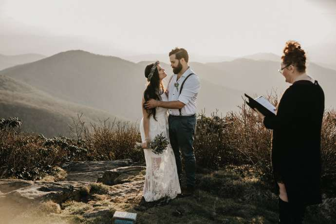intimate elopement asheville