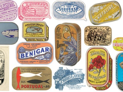 Collection of Portuguese Sardine Can Designs
