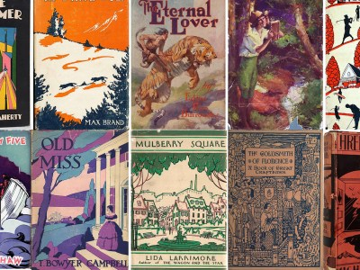 Collection of Old Book Covers