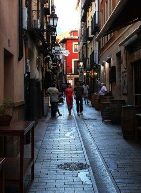Street scene, Logroño