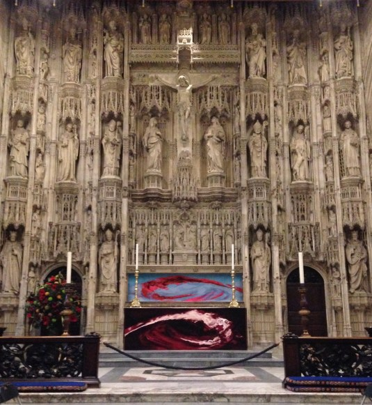 15th century High Altar, Winchester Cathedral
