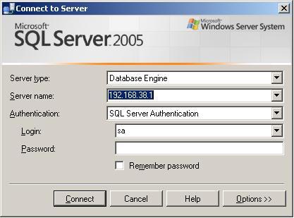 Specifying a Different Port Number in SQL Management Studio