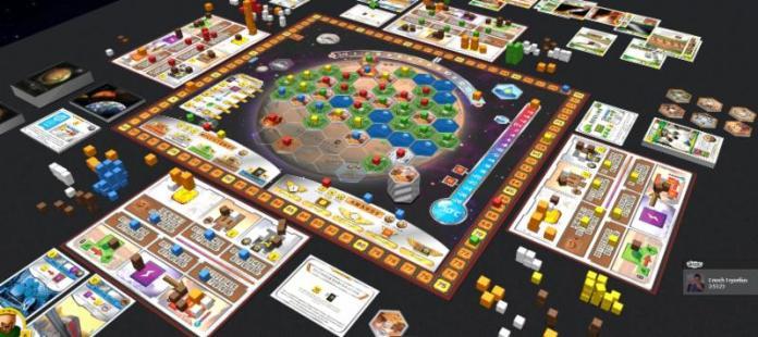 terraforming mars mat
