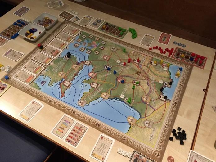 Gallien map