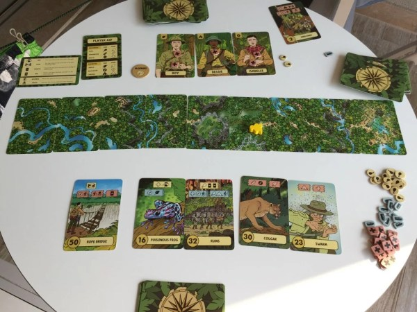 Kartenspiel The Lost Expedition