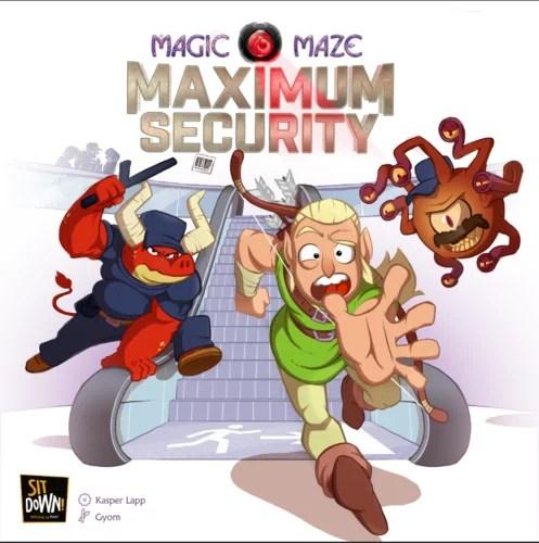 maximum magic maze box