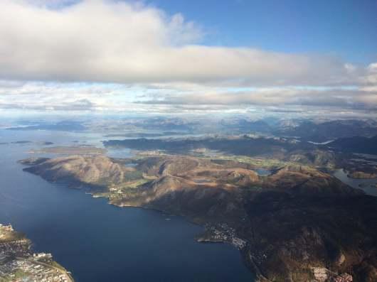 Flott utsikt over Stavanger