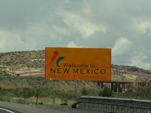 22AUG New Mexico Stae Sign