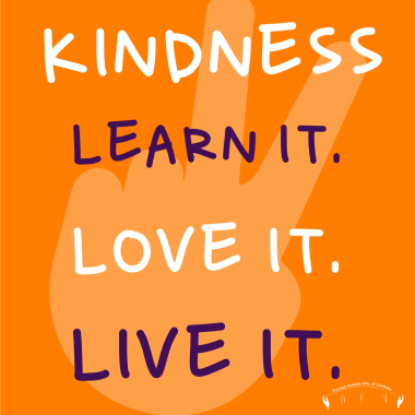learn and live kindness quote peace