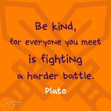 brevard random acts of kindness, nice quote, plato