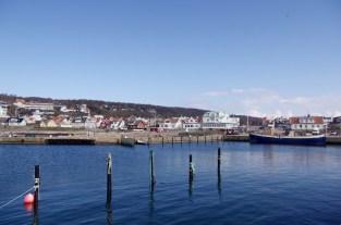 Der Hafen von Mölle.