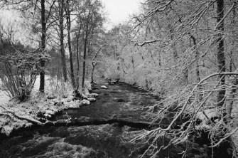 Brücke über den Viskan.