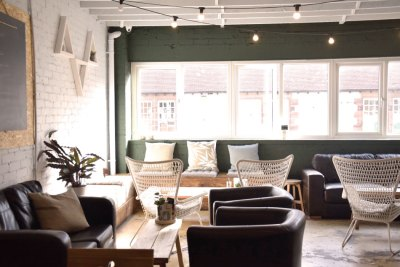 Brew and Tucker | Coffee Shop Frodsham | Upstairs