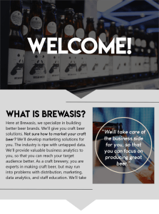 beer data, beer revenue, beer sales growth, brewery consultation, building better beer, disciplining your data, newsletter