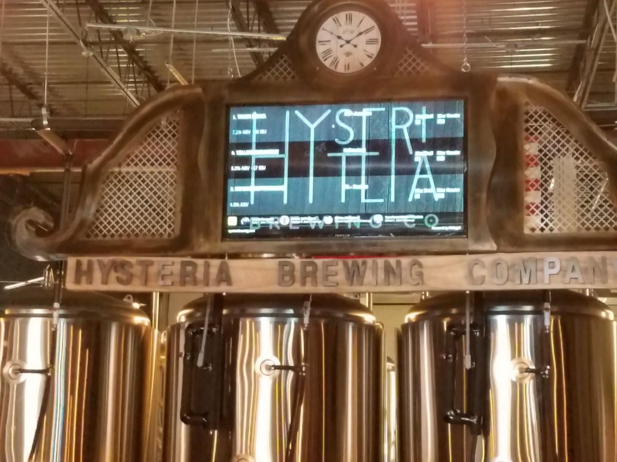Hysteria Brewing/Lost Ark Distilling