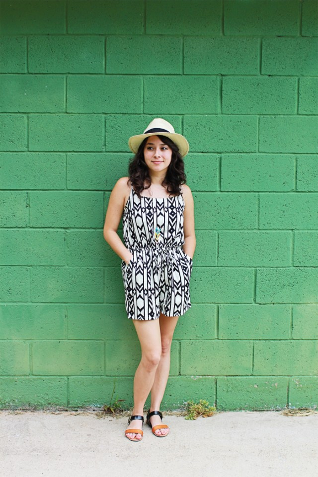 Brewed-Together-Mean-on-Green-Romper-Fashion-4