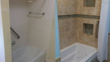 bathroom remodeling services in racine kenosha and lake forest ill