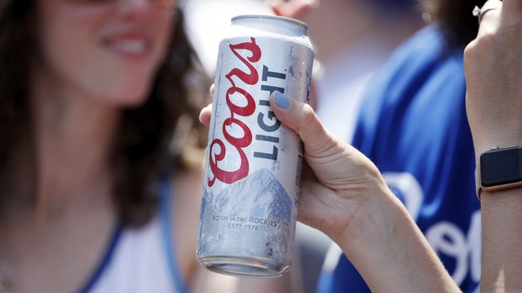 Can of Coors Light Beer