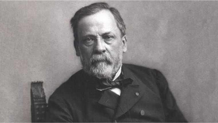 Photograph of Louis Pasteur the French scientist.