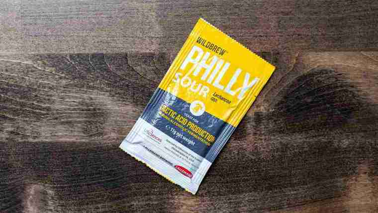 A packet of Philly Sour yeast.