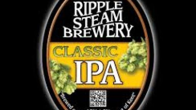 Logo of the Ripple Steam Brewery in Kent England.