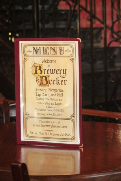 IMG_1428_1900s vintage style menu cover design for Brewery Becker