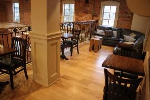 mezzanine view for parties