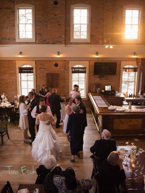 wedding reception-Tina Esch Photography-downtown Brighton MI-Brewery Becker