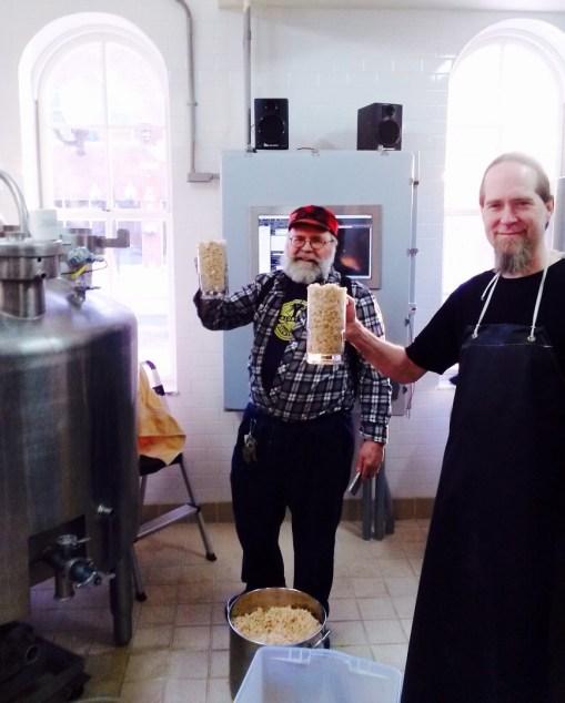 making Bean Soup Beer