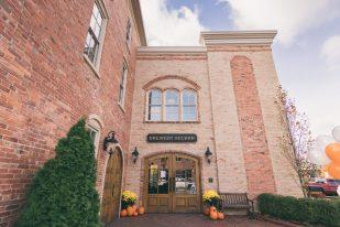 Burton Wedding-6 Brewery Becker building exterior Nick Rote Photography