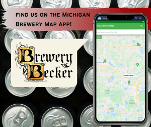 find brewery becker on the michigan beer map app!