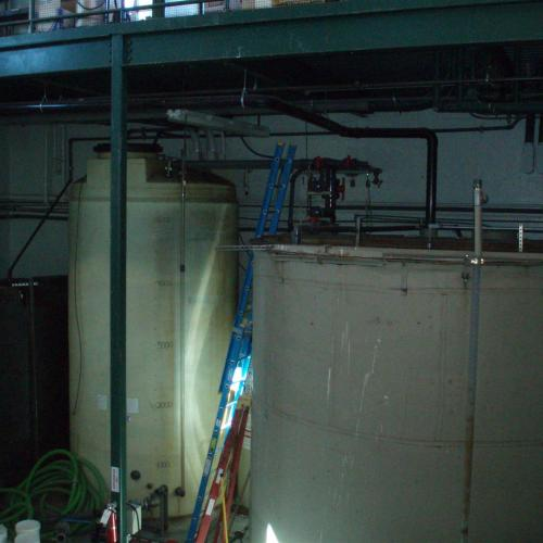 Brewery wastewater tank
