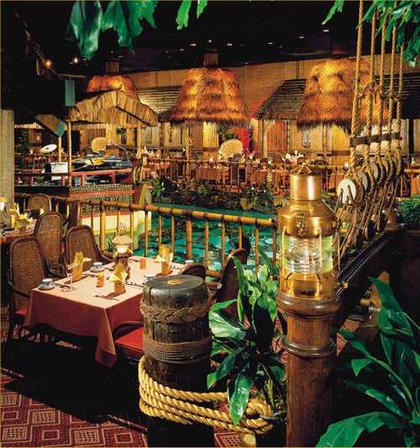 In between rainstorms, one of the world's best tiki bars