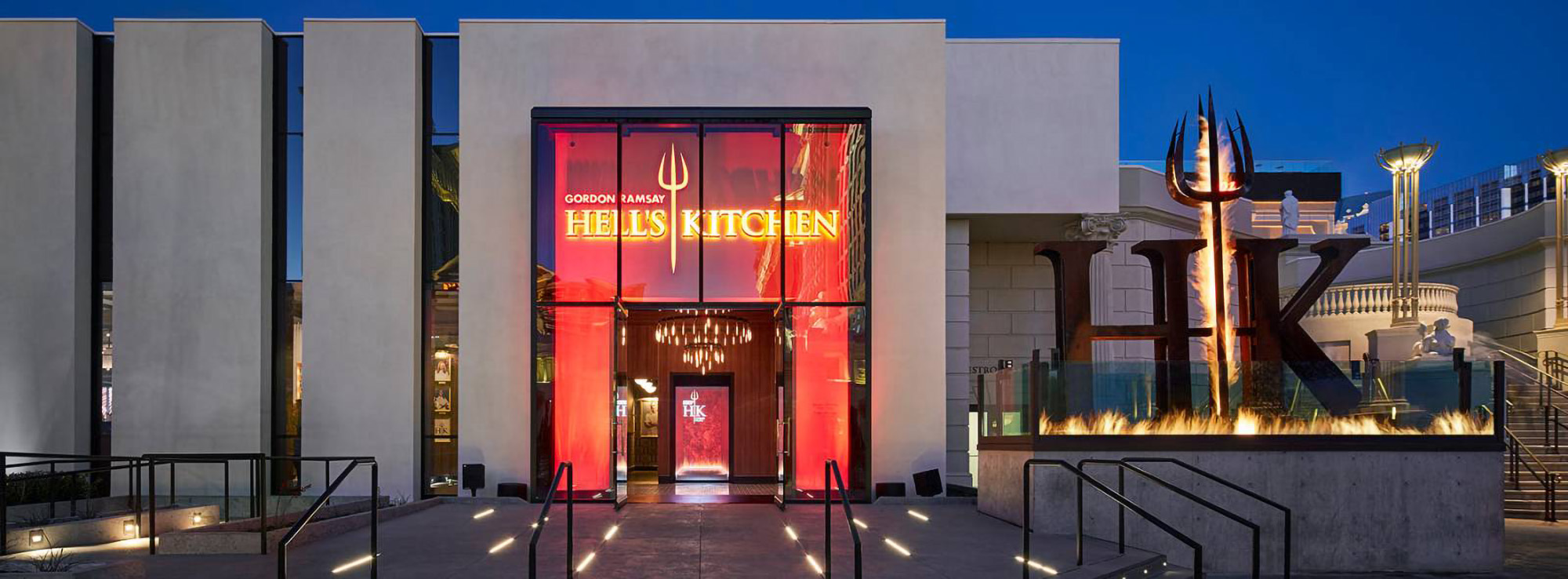 Entrance to Hell's Kitchen in Las Vegas