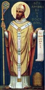 Święty Ambroży
