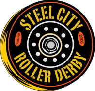 Steel City Roller Derby logo