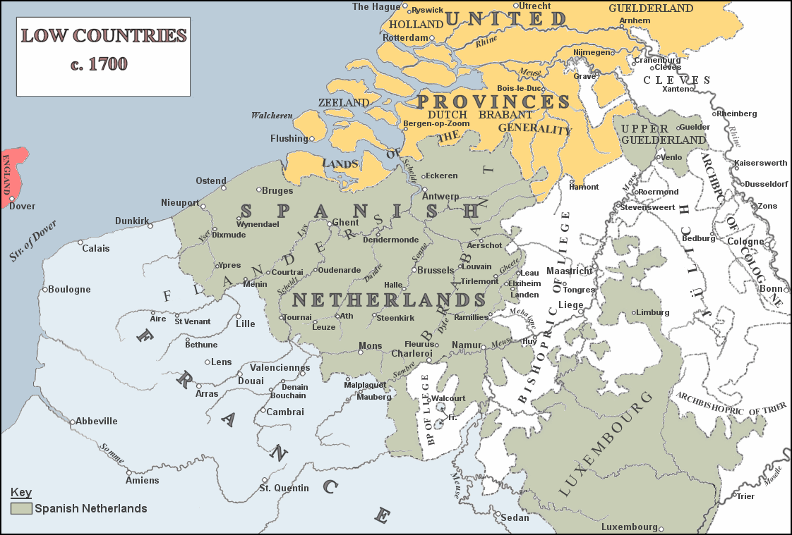 Spanische Niederlande