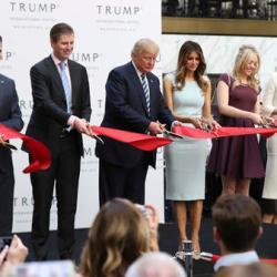 Donald Trump, Donald Trump Jr., Eric Trump, Melania Trump, Tiffany Trump, Ivanka Trump