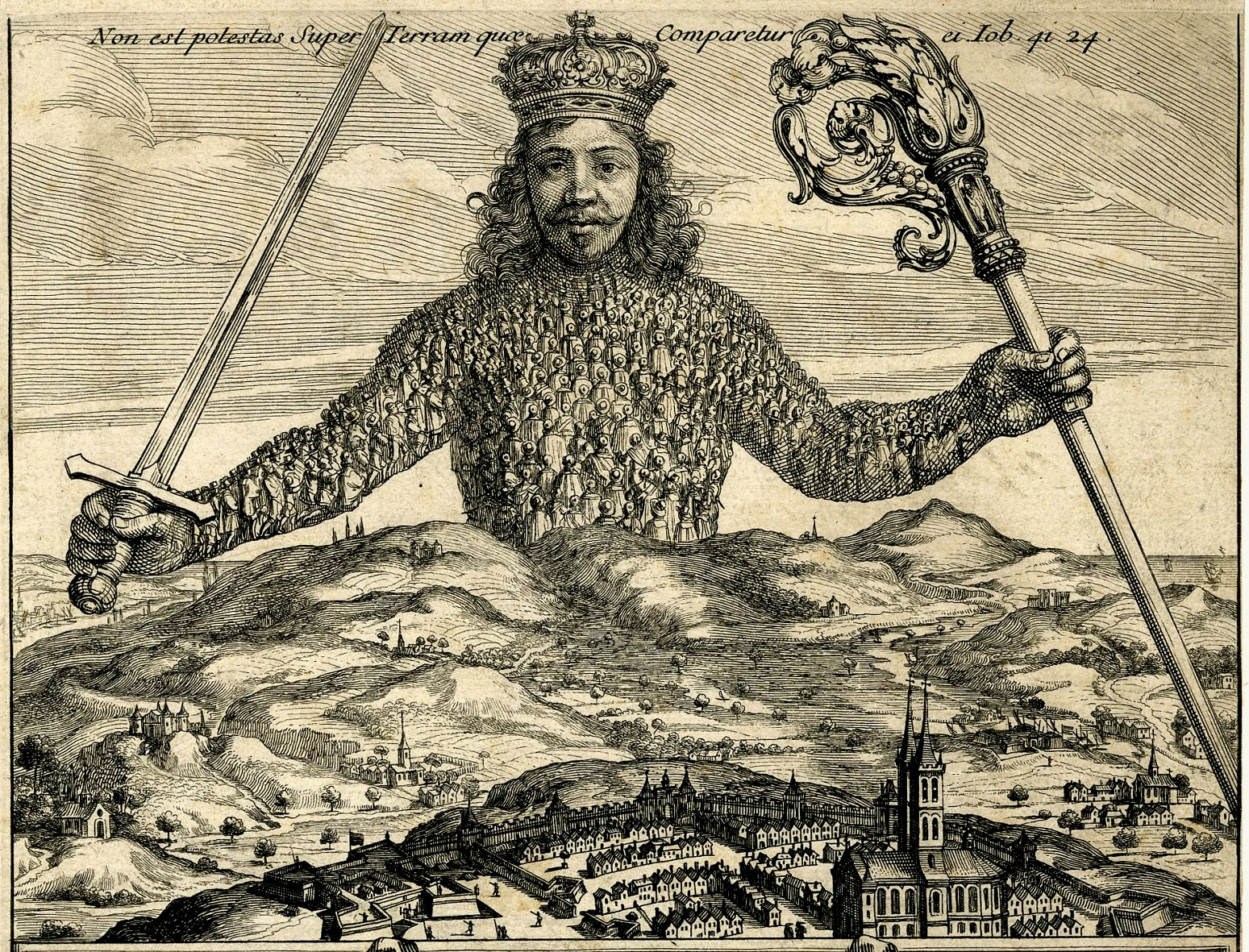 Image result for thomas hobbes leviathan