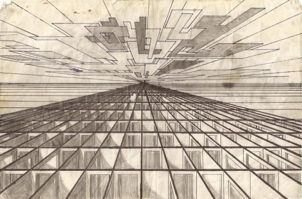 Early Applications of Linear Perspective