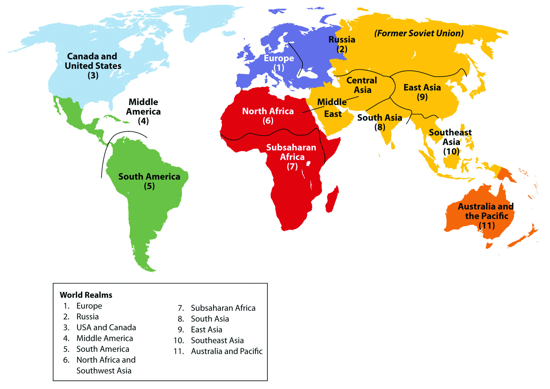 An Introduction To World Geography People Places And
