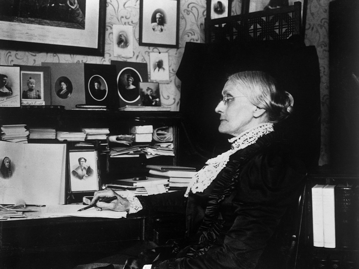 In Spite Of Horrible Conditions Susan B Anthony Stumped