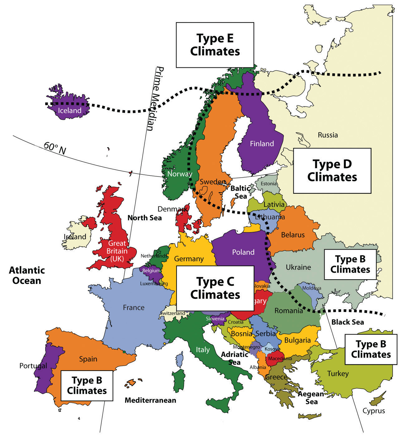 Regions Of Europe And Historical Patterns