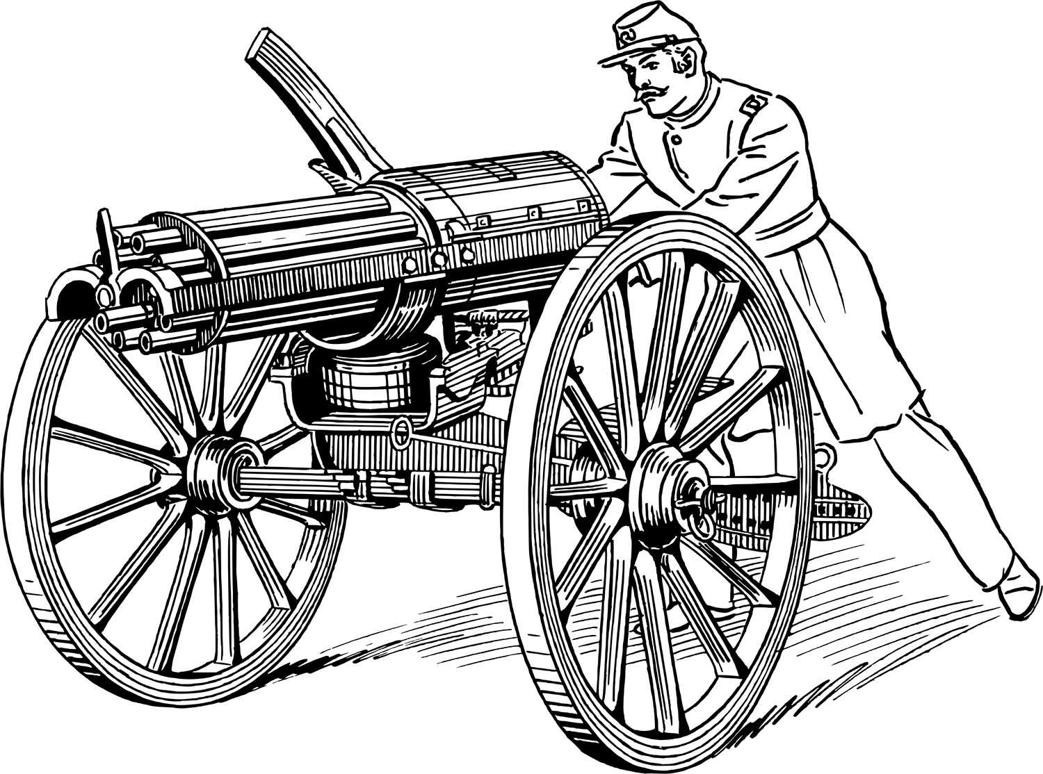 Some Strange Weapons Produced By The American Civil War