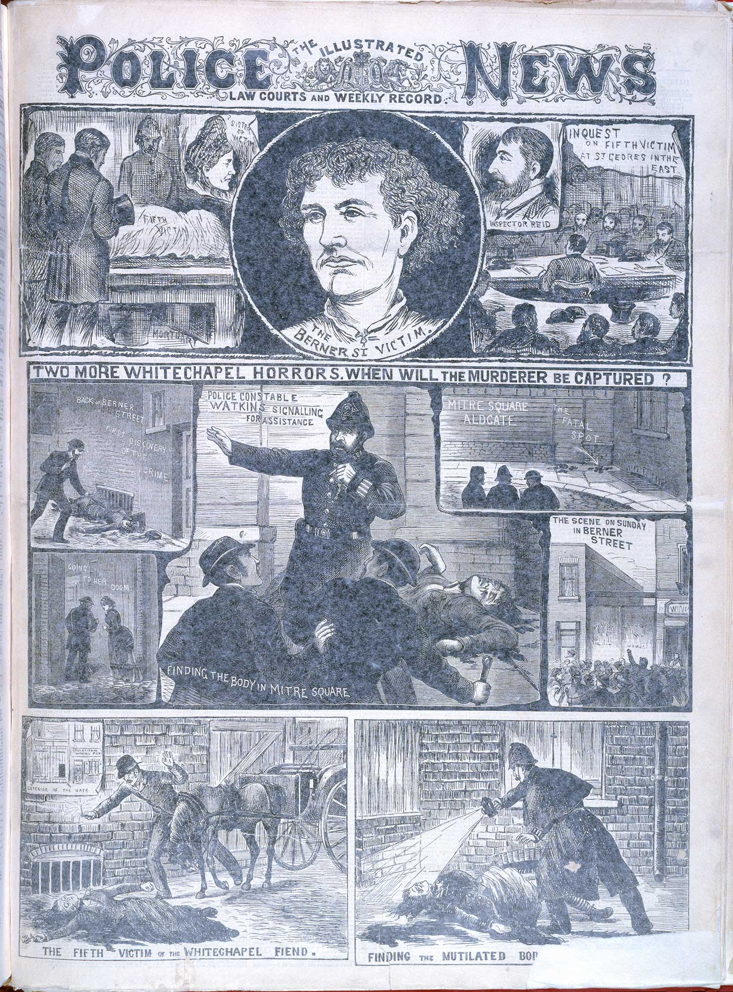 Jack Ripper Victims Crime